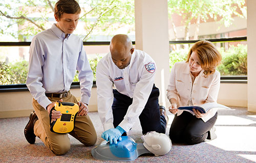 Instructor Led Safety & First Aid Training | Cintas