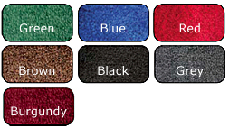 Cintas carpet mat colors