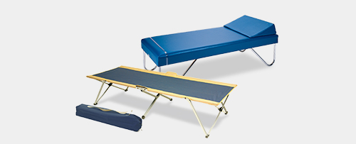 first aid cots