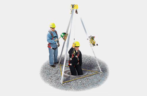 workman tripled confined space entry kit