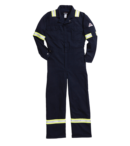 64307 Tecasafe™ plus coverall with reflective trim
