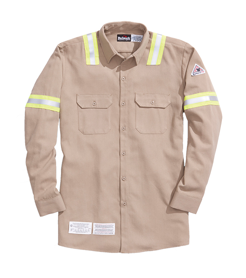 64308 Tecasafe™ plus shirt with reflective trim
