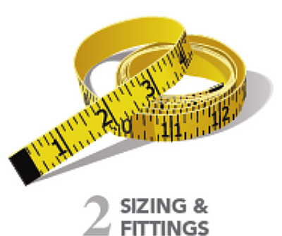 sizing and fitting