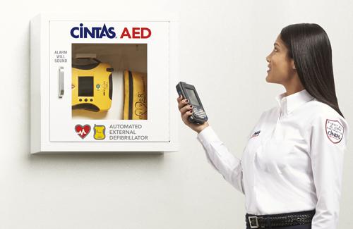 Aeds Automatic External Defibrillator Cintas