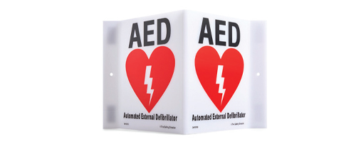 AED Onsite Signage