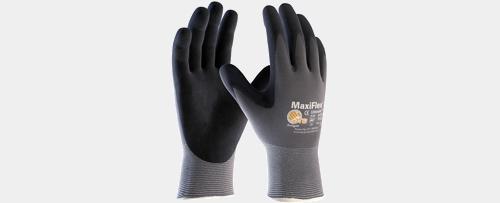 Nitrile Latex Polyurethane Coated Work Gloves Cintas