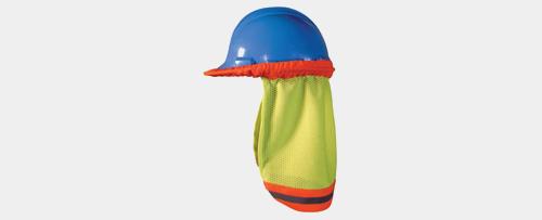 Hard hat neck shade