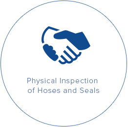 Physical Inspection of Hoses and Seals