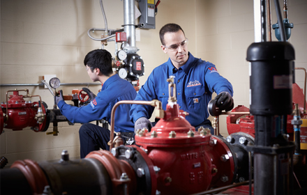 Fire protection equipment inspections