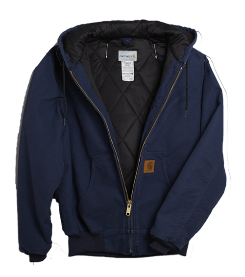 376 Carhartt Jacket (navy)