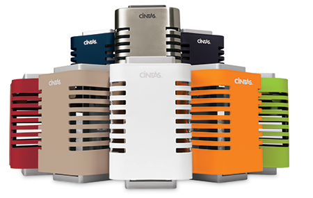 All colors of the Cintas Signature Series Air Fresheners