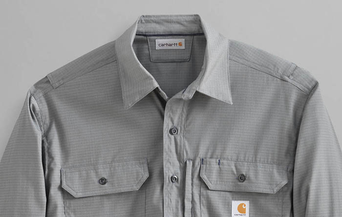 Lightbrown Carhartt button down shirt thumbnail