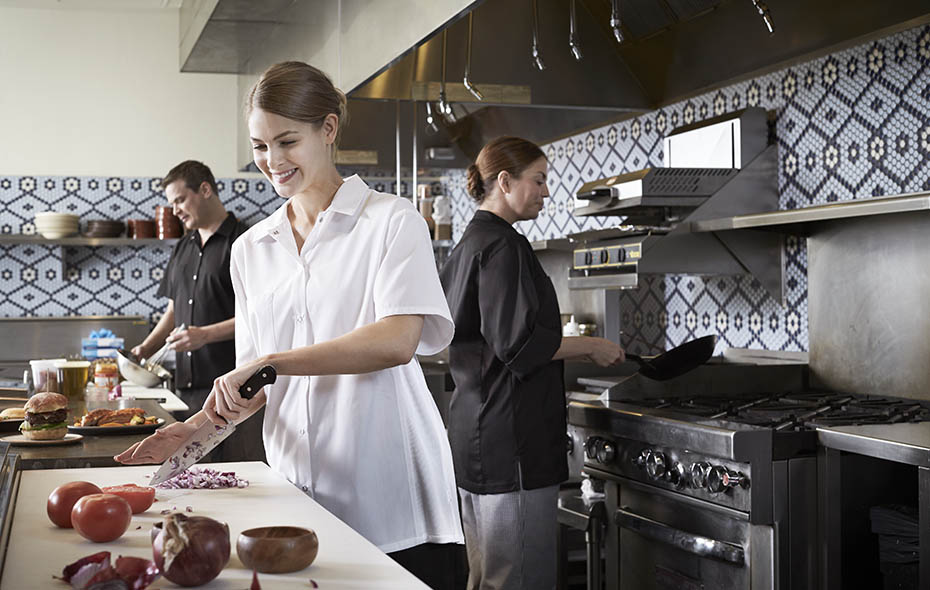 Chef in Signature Lightweight Chef Shirt