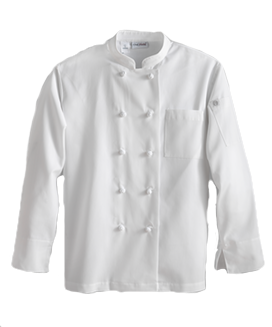 Chef Works Knot Button Essential Chef Coat
