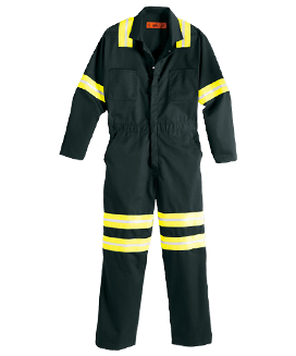 Enhanced Visibility Coverall