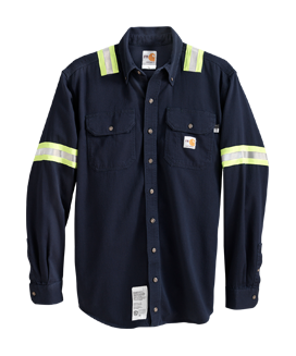 Carhartt® FR Enhanced Visibility Work Shirt